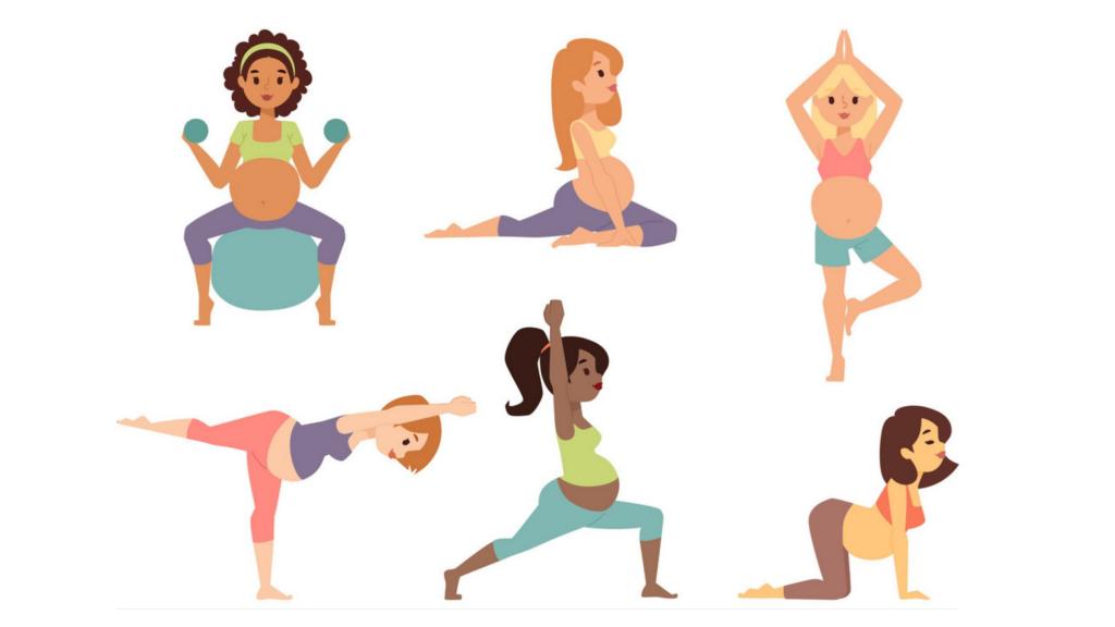 безопасно ли тренироваться во время беременности?